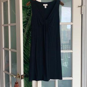 Ann Taylor Loft Low Cut Black Dress-Sz 6